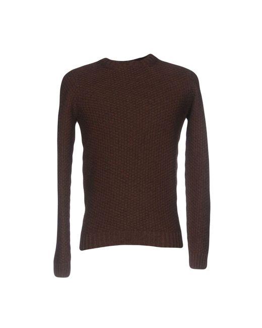 Drumohr - Brown Sweaters for Men - Lyst
