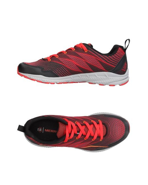 Merrell - Red Low-tops & Sneakers for Men - Lyst