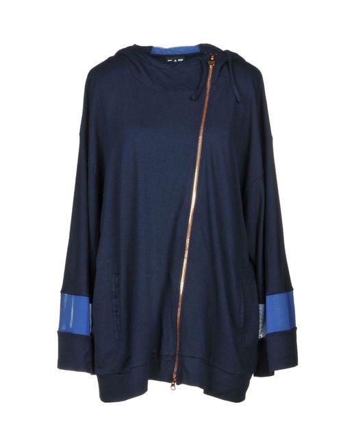 EA7 - Blue Sweatshirt - Lyst