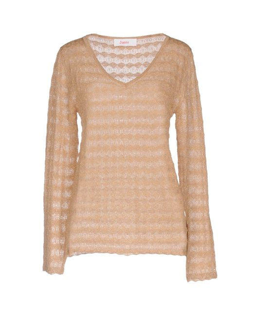 Jucca - Natural Sweaters - Lyst
