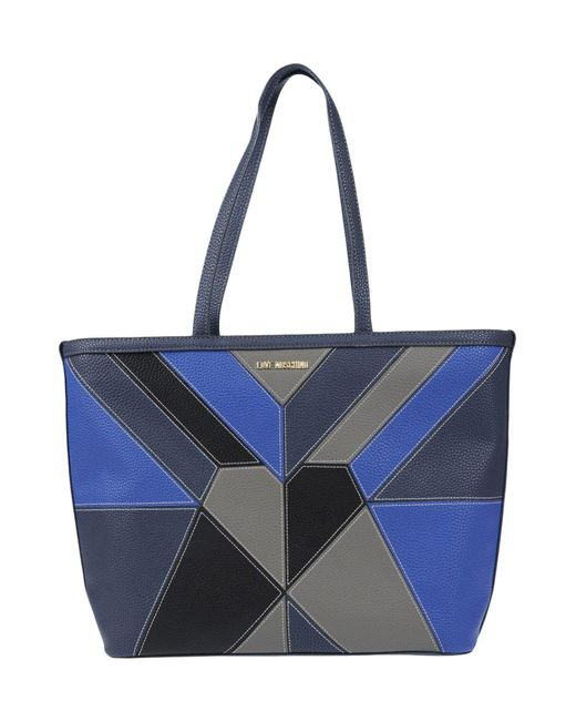 Love Moschino - Blue Handbag - Lyst