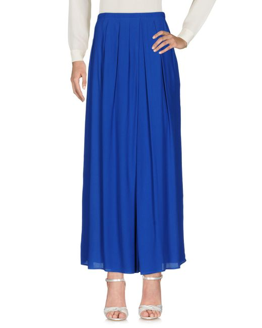 Space Style Concept - Blue Long Skirt - Lyst
