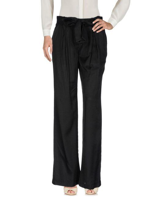 Silvian Heach - Black Casual Pants - Lyst
