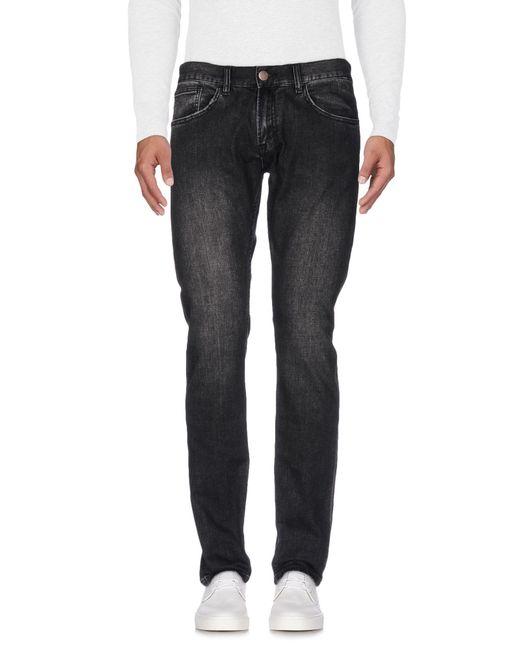 Sun 68 - Black Denim Trousers for Men - Lyst