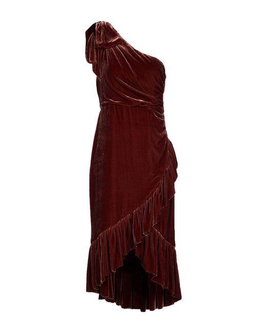 Ulla Johnson - Brown 3/4 Length Dress - Lyst