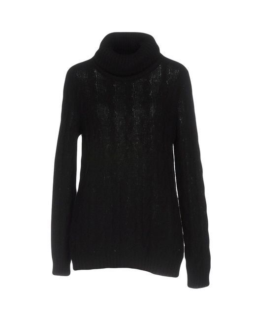 Ralph Lauren Black Label - Black Turtlenecks - Lyst