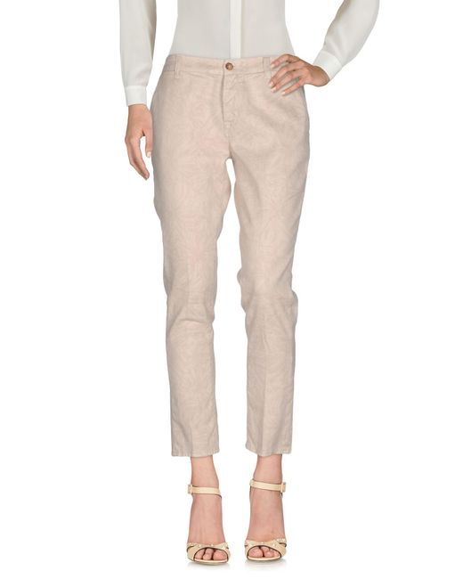 TRUE NYC - Natural Casual Trouser - Lyst