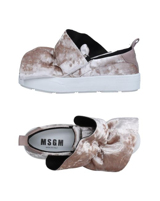 MSGM | Gray Low-tops & Sneakers | Lyst