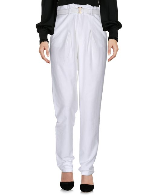 Who*s Who - Black Casual Trouser - Lyst