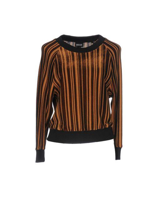 Just Cavalli | Brown Sweatshirt | Lyst
