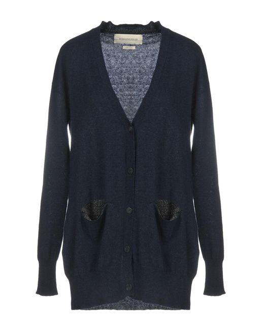 By Malene Birger - Blue Cardigan - Lyst