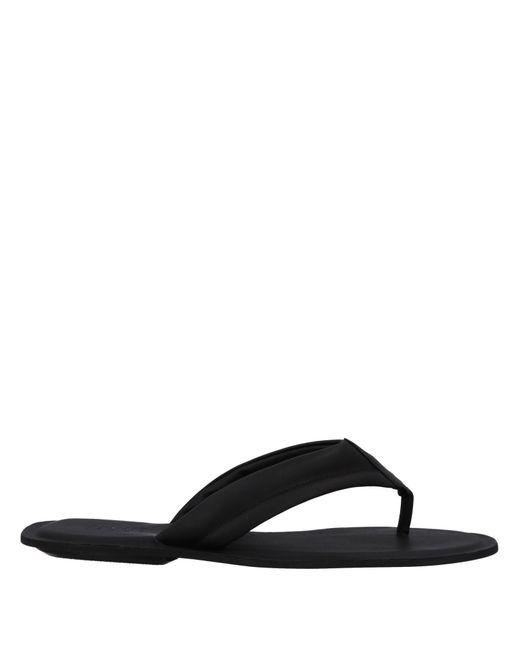 361b49747a1 Lyst - Sandalias de dedo Armani Jeans de hombre de color Negro