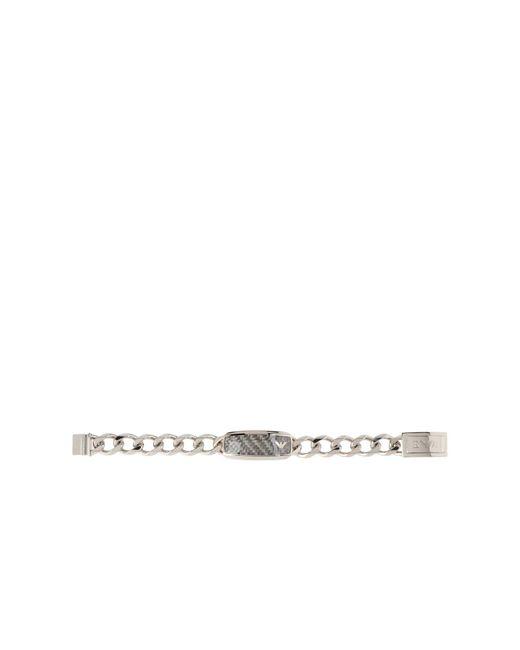 Emporio Armani - Metallic Bracelets for Men - Lyst