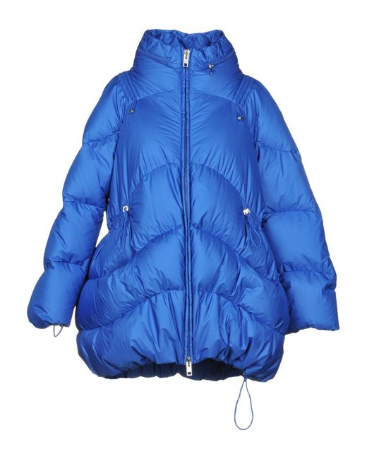 Ermanno Scervino - Blue Down Jacket - Lyst