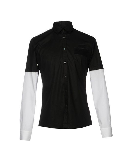 Les Hommes - Black Shirts for Men - Lyst