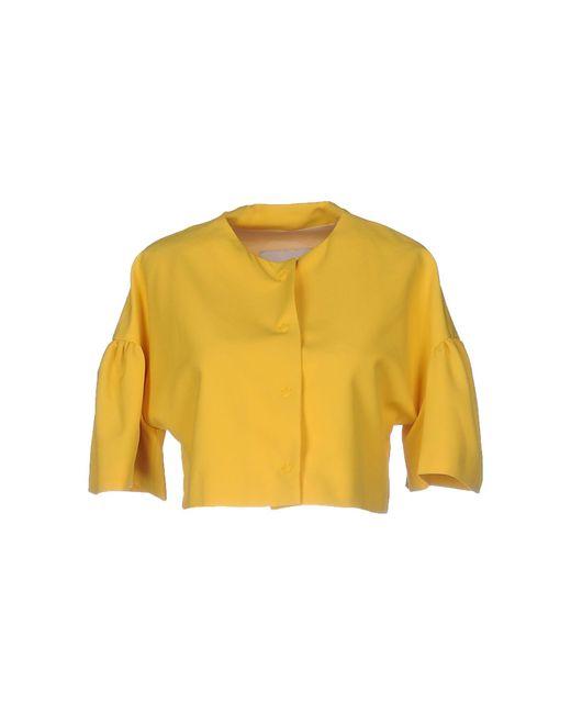 Annie P - Yellow Blazer - Lyst