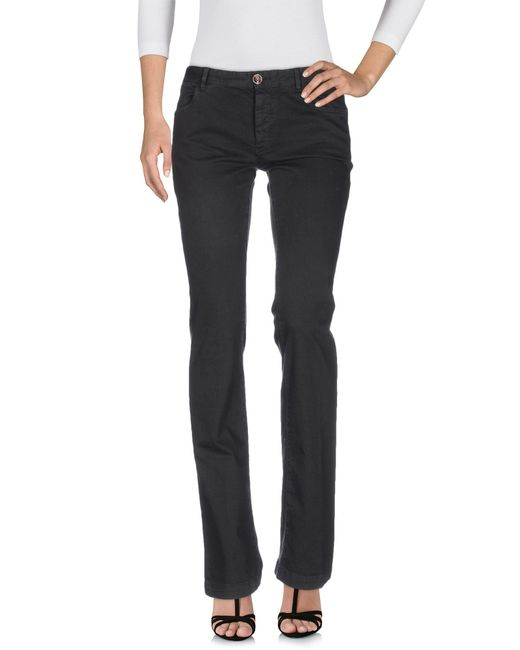 Mauro Grifoni - Black Denim Pants - Lyst