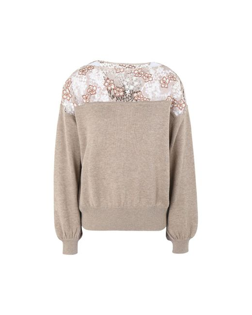 See By Chloé - Natural Jumper - Lyst