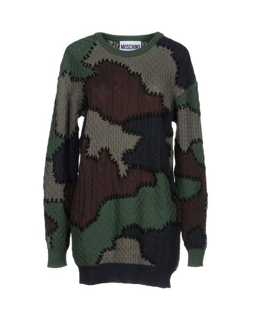 Moschino - Green Jumper - Lyst