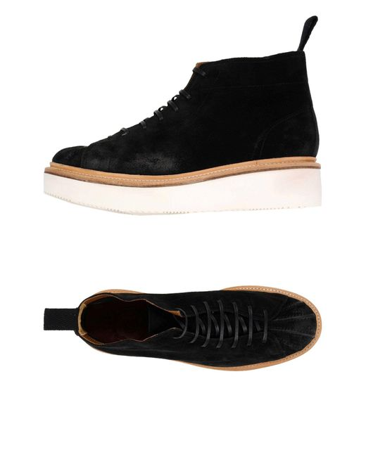GRENSON | Black High-tops & Sneakers | Lyst