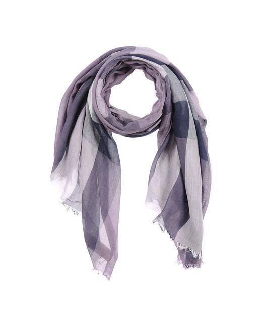 Burberry - Purple Scarves - Lyst