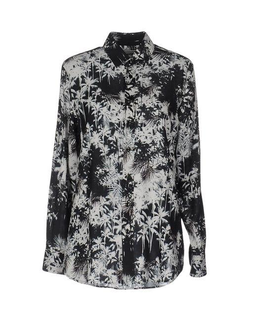 Saint Laurent - Black Shirt - Lyst