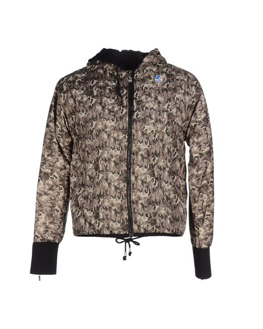 K-Way - Gray Jackets for Men - Lyst