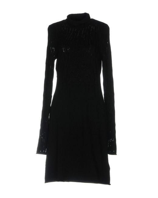 Guess | Black Short Dress | Lyst