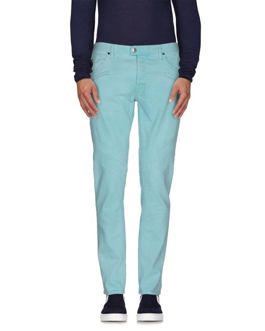 Just Cavalli - Blue Denim Pants for Men - Lyst