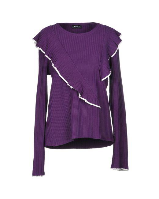 MAX&Co. - Purple Jumper - Lyst