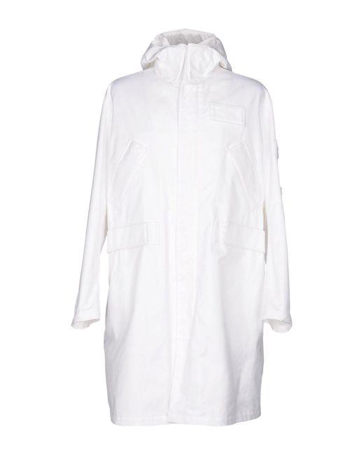 Calvin Klein | White Jacket | Lyst
