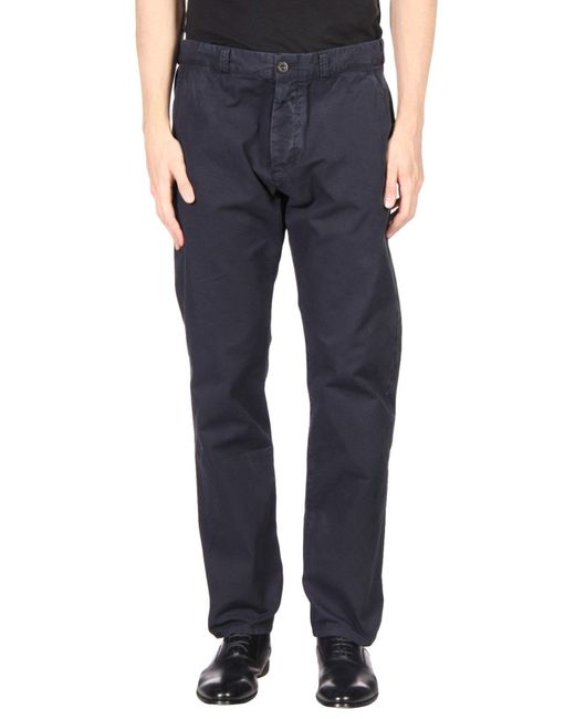 Maison Kitsuné - Blue Casual Pants for Men - Lyst