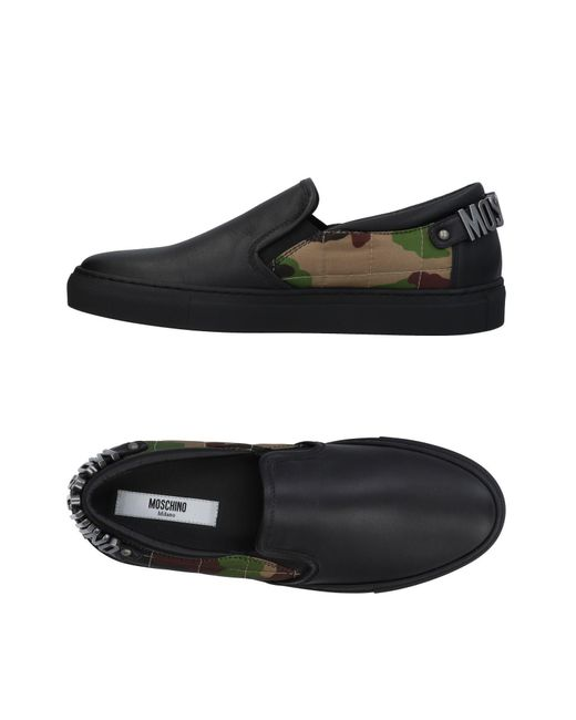Moschino - Black Low-tops & Sneakers for Men - Lyst