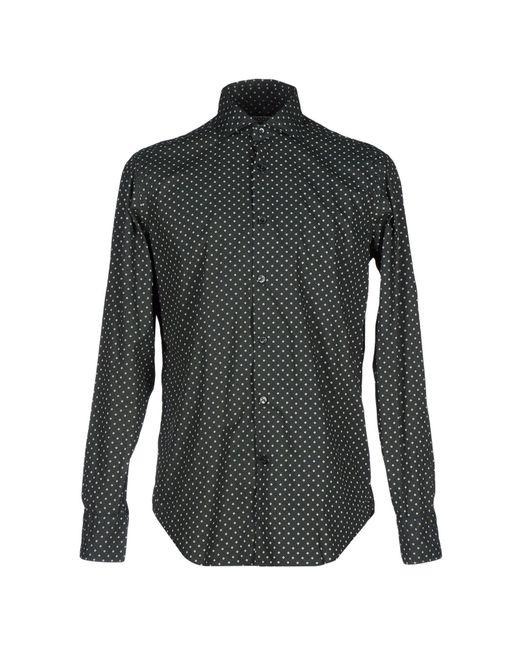 Roda - Black Shirt for Men - Lyst