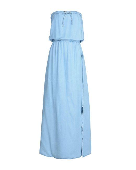 Relish - Blue Long Dresses - Lyst