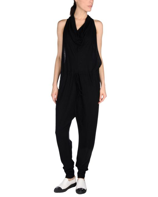 Lost & Found - Black Jumpsuit - Lyst
