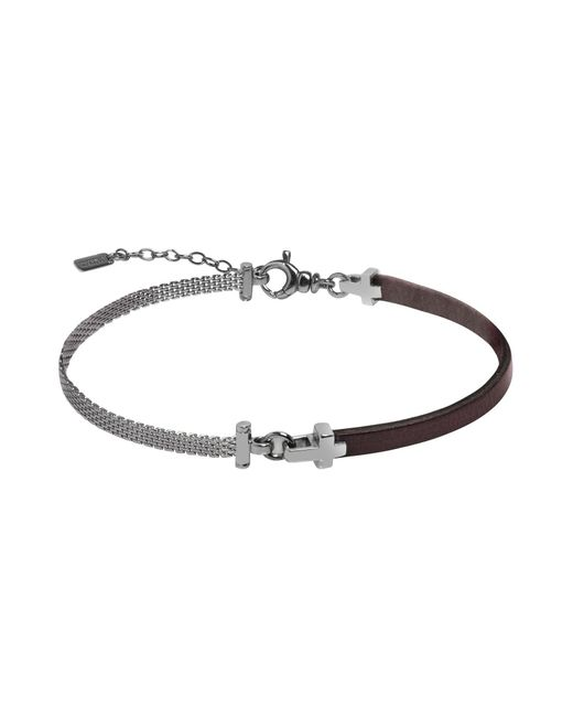 JACK&CO - Brown Bracelet for Men - Lyst