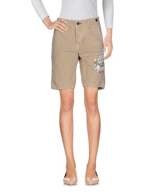 Jfour | Natural Bermuda Shorts | Lyst