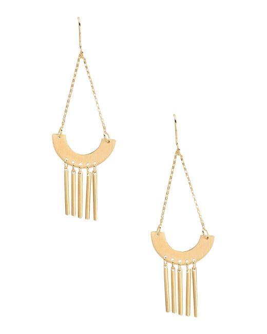 TRIBE ALIVE - Metallic Earrings - Lyst