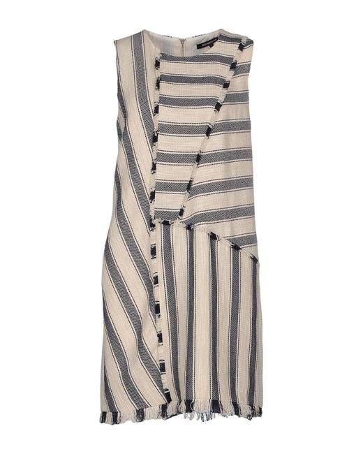 Tess Giberson - Black Short Dress - Lyst