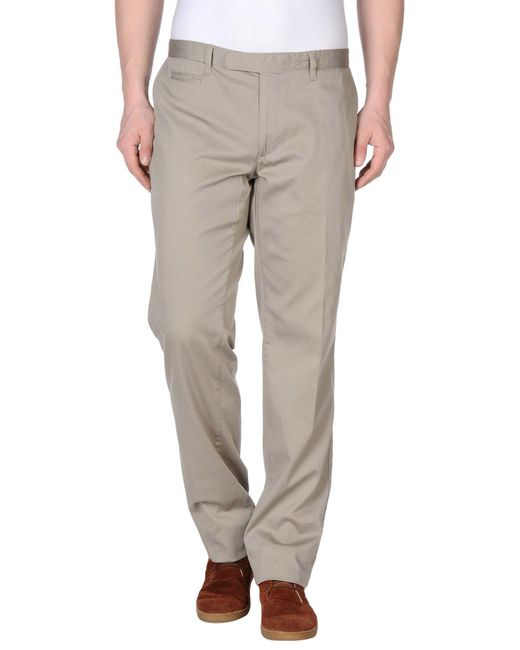 Brooksfield - Gray Casual Pants for Men - Lyst