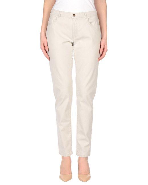 Maliparmi - Gray Casual Pants - Lyst