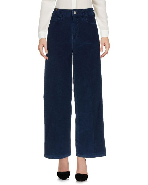 Notify - Blue Casual Trouser - Lyst