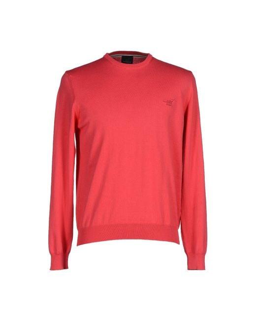 Henry Cotton's | Red Jumper for Men | Lyst