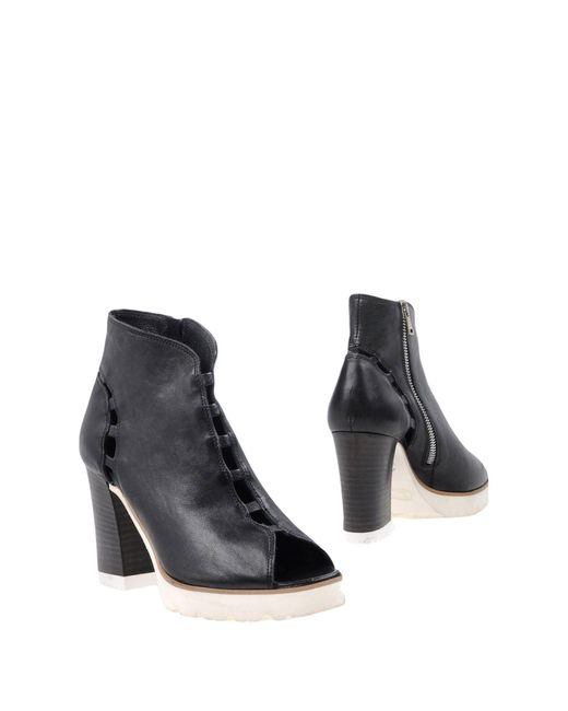 Keb - Black Ankle Boots - Lyst