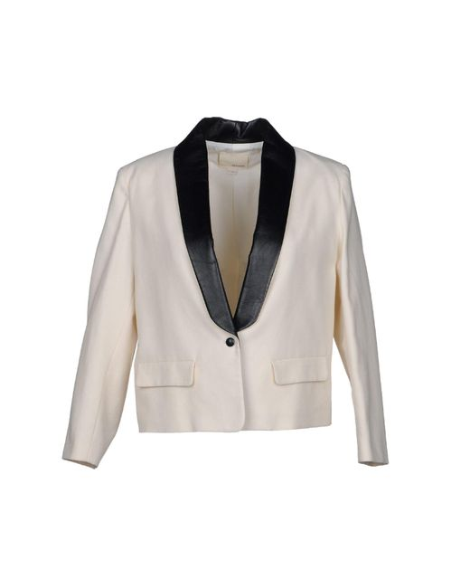Band of Outsiders - White Blazer - Lyst