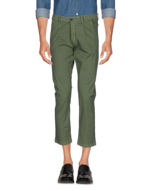 26.7 Twentysixseven - Green Casual Pants for Men - Lyst