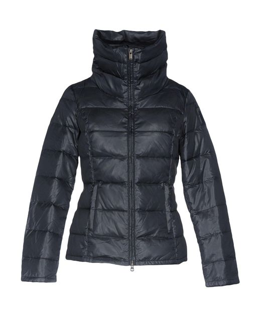 Bomboogie | Blue Down Jacket | Lyst