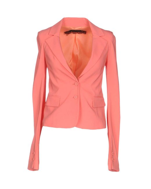 Patrizia Pepe - Pink Blazer - Lyst