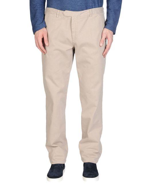 Blue Les Copains - Natural Casual Trouser for Men - Lyst